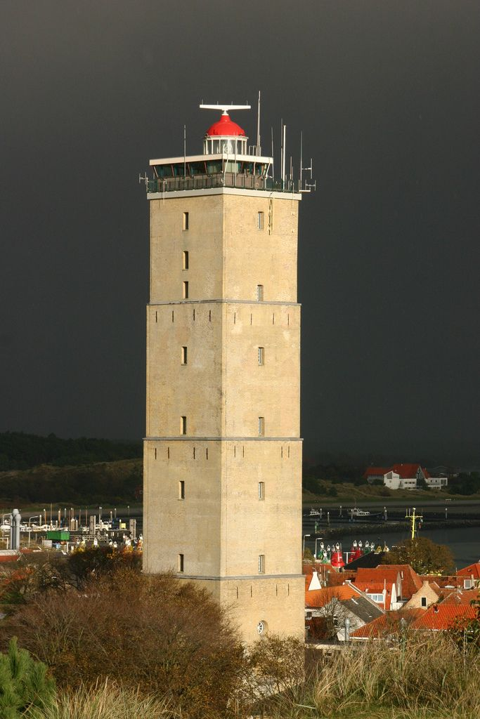 The Brandaris is a lighthouse on the Dutch Wadden Sea island Terschelling, in Friesland. The first Brandaris was built in 1323, but it was destroyed in 1570. Wikipedia.  Country: The Netherlands