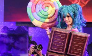 Lollipoppy Cosplay from League of Legends by Nimdra