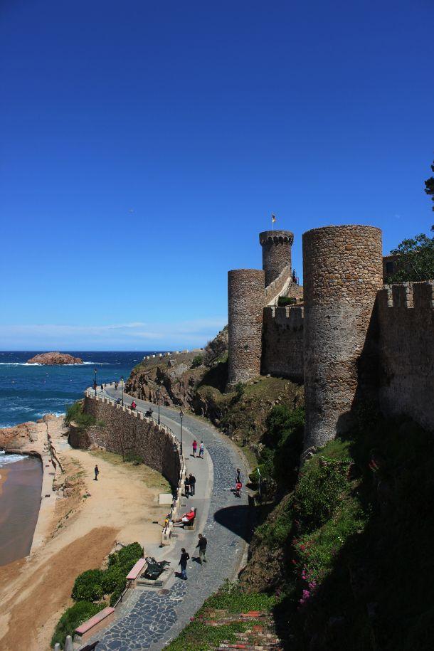 Tossa de Mar,  Girona Cataluña. ESPAÑA