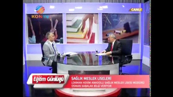 Sağlık Meslek Liseleri-İbrahim ÇETİN, Eğitim Günlüğü Programı Kontv