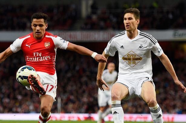 Alexis Sanchez created plenty of chances for his team-mates last term