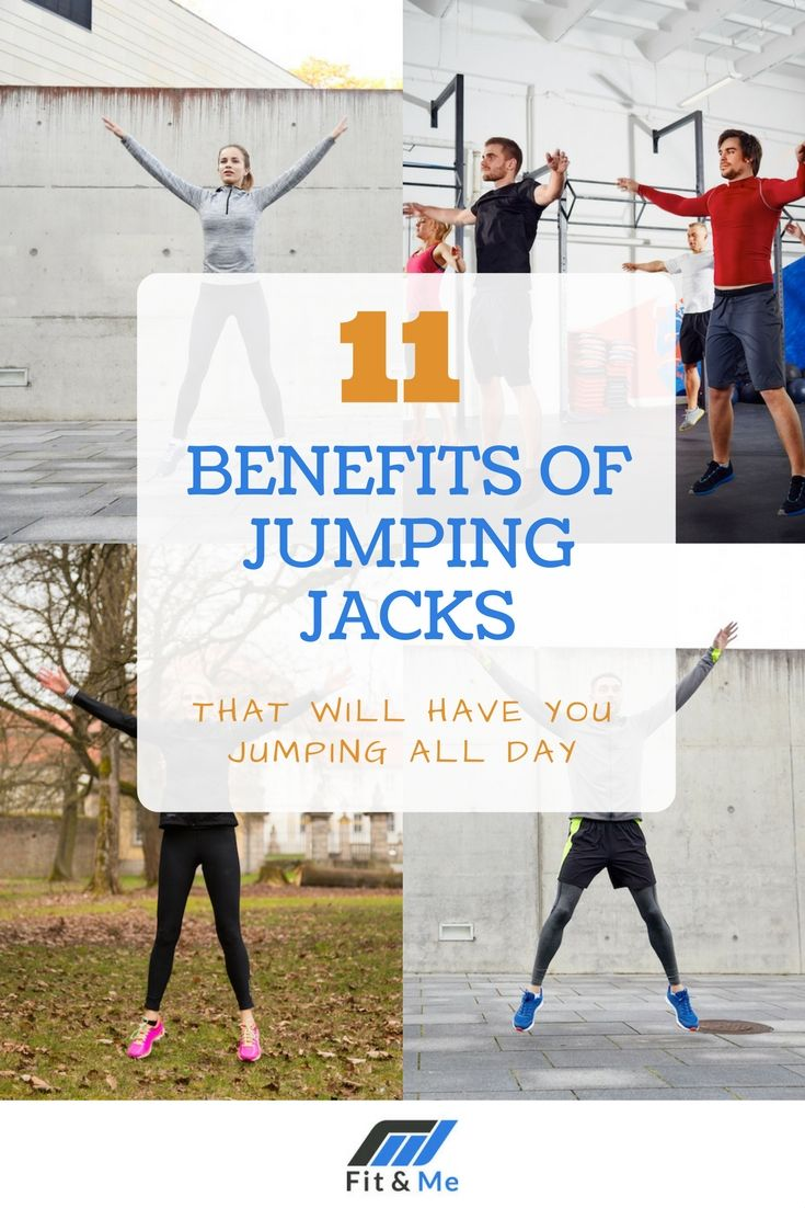 There are many different benefits of jumping jacks that you may not know about, each of which can go a pretty long way in making you a much healthier person