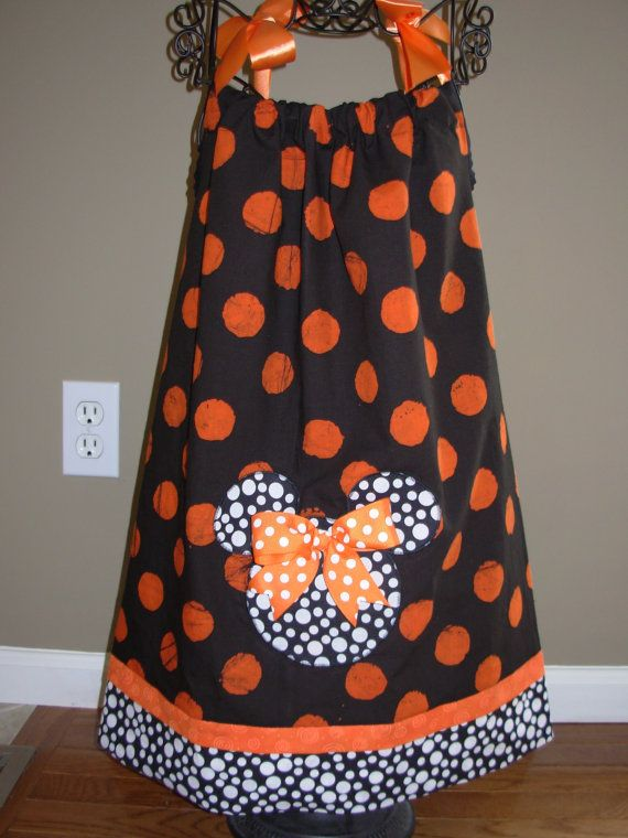 Minnie Halloween Pillowcase Dress