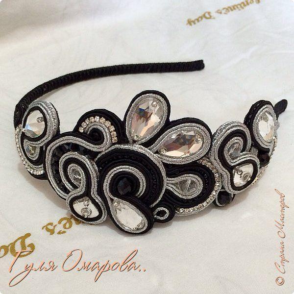 Еще один ободок был сделан на заказ. для Заиры из Дагестана!!! фото 1
