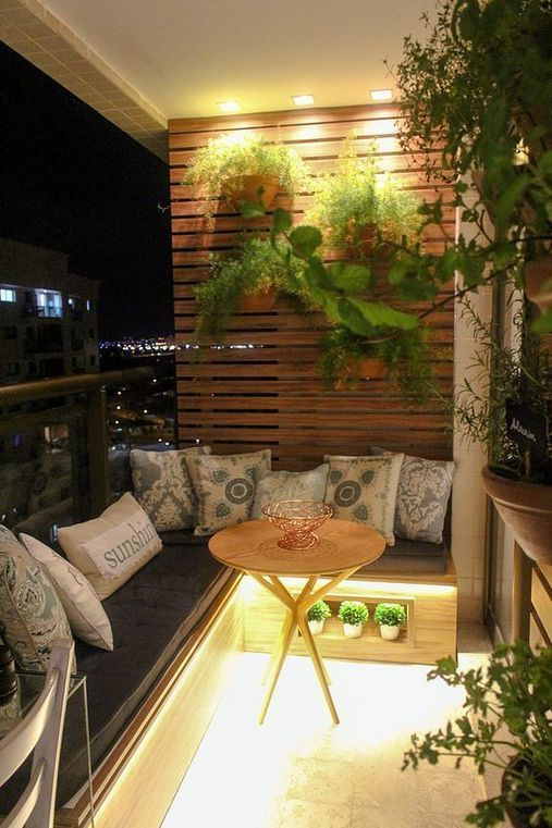 Small Apartment Balcony Garden Ideas: 35+ Cool Balcony Decoration Ideas For Your Apartment Or