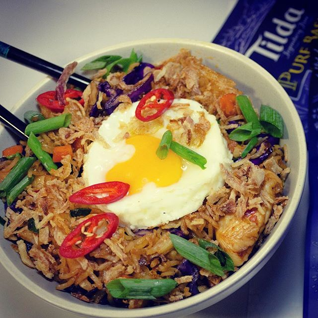 Recently I tried Tilda Basmati Rice to cook Nasi Goreng and it was as easy as opening the packet to toss the rice in the wok. I found this basmati rice to be full of nutty flavour, which added to the taste. My recent quest for healthy food has made me seek out low GI options and this one is super-healthy. Check out the recipe on www.rishidesai.com.au Have you used Basmati in some unique recipes other than curry accompaniments? #tildariceau