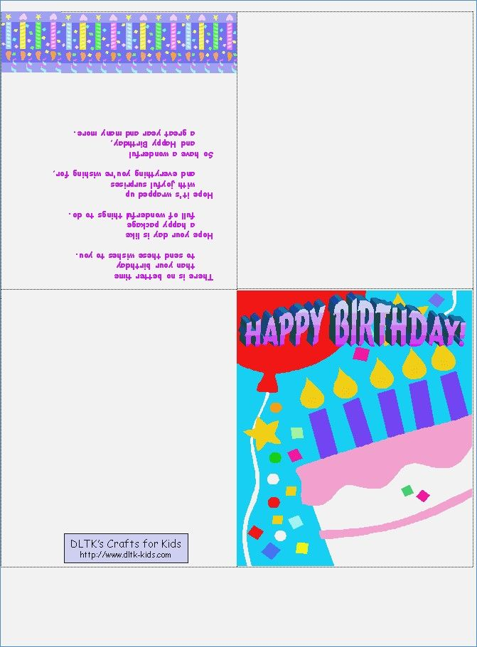 Mes Cards Free Printable Cards Birthday Card Template Kids Birthday Cards Birthday Card Online