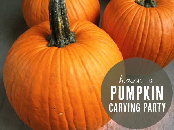 Pumpkin carving party printables | Delphine for The Sweetest Occasion
