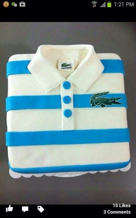 Best Shirt Cake Images On Pinterest Shirt Cake Cakes And Cake - Birthday cake shirt