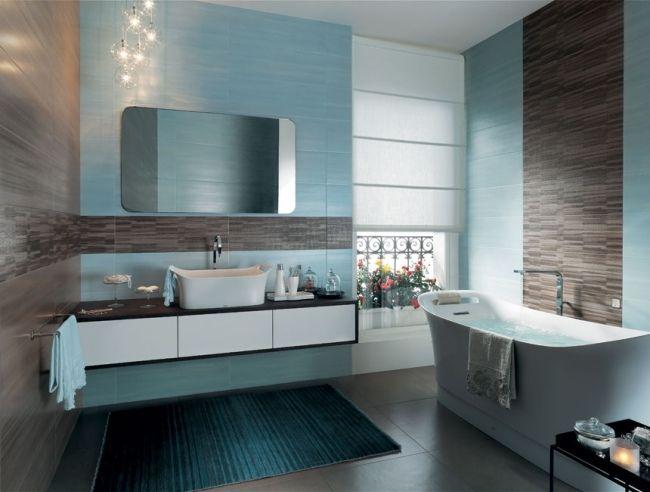 25+ Best Ideas About Badezimmer Blau On Pinterest | Waschbecken ... Bad Blau Braun