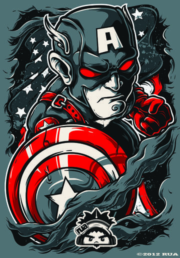 25 smashing vector illustrations!   From up North