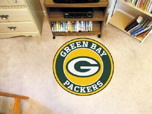 Green-Bay-Packers-29-Round-Mat-Rug-Mancave