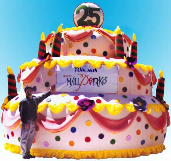 Inflatable Cake Rental | Rent a Giant Cake | Costume Rental ...