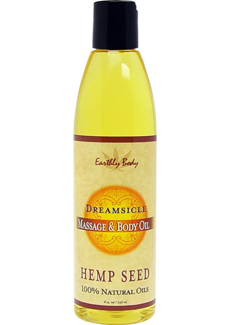 Buy Massage And Body Oil With Hemp Seed Dreamsicle 8 Ounce online cheap. SALE! $14.99