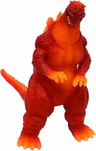 Japanese 50th Anniversary Memorialbox Vinyl Figure 1995 Burning Godzilla [Godzilla vs. Destroyah]