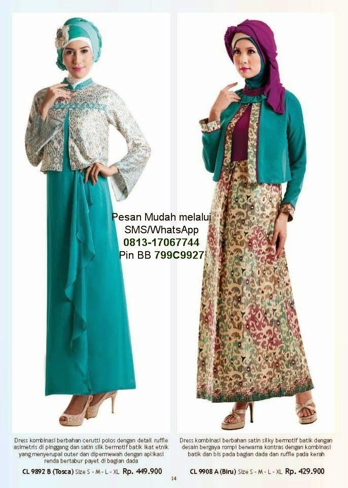 Gamis Cantik Model Baju Muslim Terbaru | Cantik Berbaju Muslim