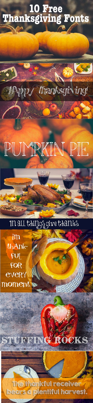 10 Free Thanksgiving Fonts | Master Bundles http://masterbundles.com/downloads/10-free-thanksgiving-fonts/