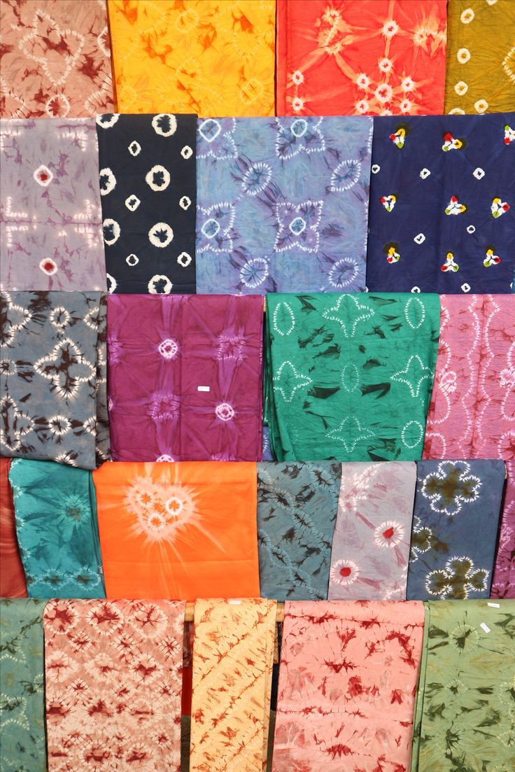 Batik patterns in the exhibition.