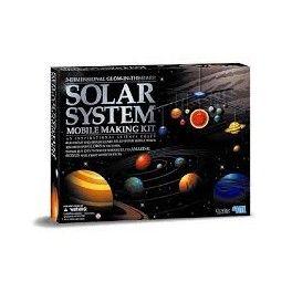 Móvil sistema solar 3D