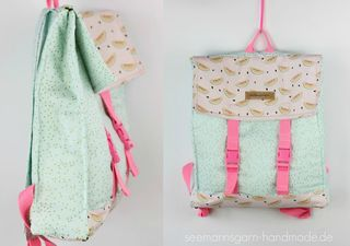 Mein Sommer-Rucksack • Tutorial & Schnitt