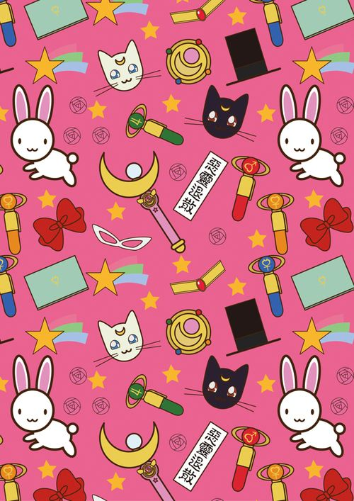 Cute Doodle Wallpaper For Iphone Sailor Moon Crystal Iphone Wallpaper Buscar Con Google