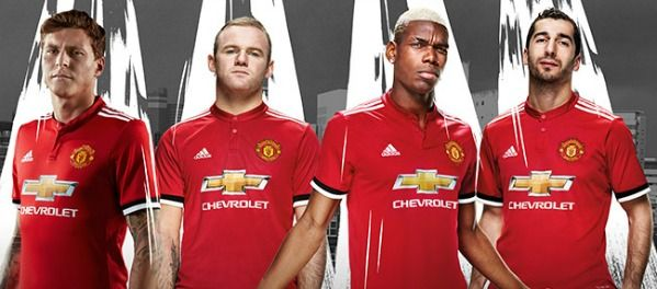 New Manchester United Home Shirt 2017-2018 by Adidas | Football Kit News