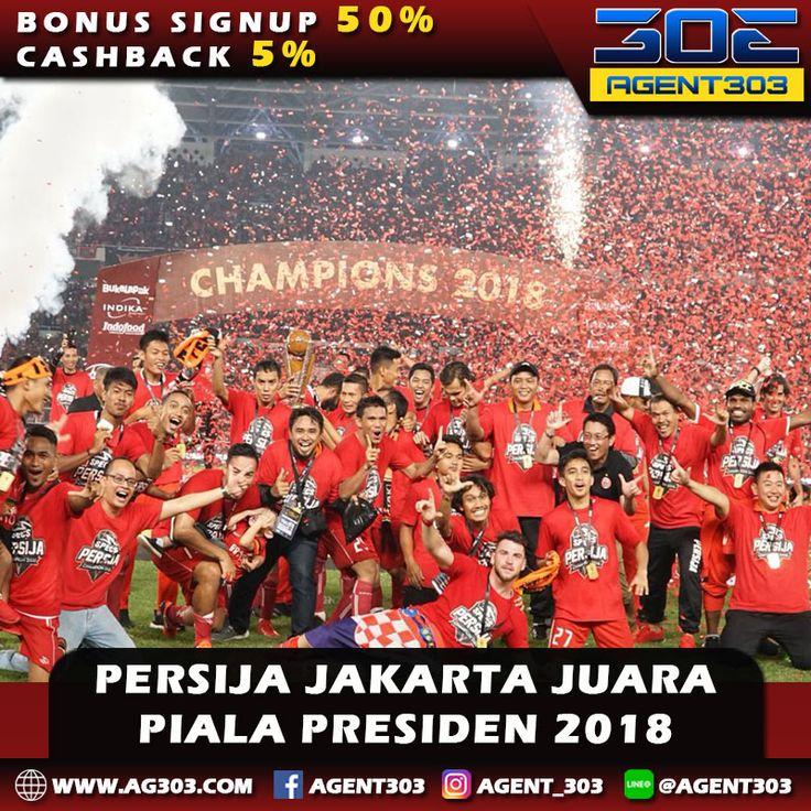 Persija Jakarta berhasil menjadi juara Piala Presiden 2018 setelah membantai Bali United 3-0 di partai Final di Stadion Utama Gelora Bung Karno (SUGBK), Sabtu (17/2/2018) malam WIB . Selamat Persija Jakarta dan The Jakmania.. . #persijaday #baliunitedday #final #gbk #macankemayoran #markosimic #supersimi
