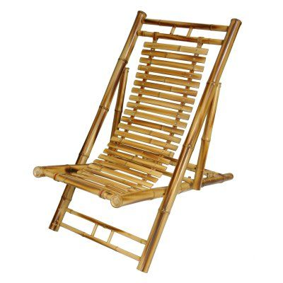 Outdoor Oriental Furniture Japanese Bamboo Folding Chair - WD20068B