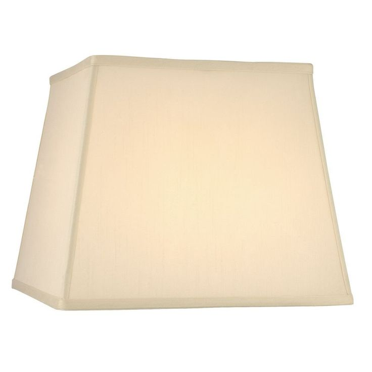 Cream Silk Square Lamp Shade with Spider Assembly *** More info could be found at the image url. (This is an affiliate link and I receive a commission for the sales)