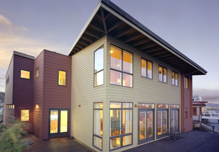 | TCA Architecture & Planning | Sunlit Spaces, Simplicity, San Francisco Bay, Copper Roofing, Ipe Wood Decking, Conscious Way of Living