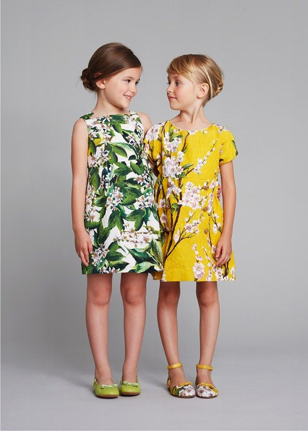 Dolce & Gabbana girlswear spring summer 2014: Junior's Top Picks