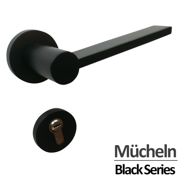 Hardware Box - MATTE BLACK Door Handle ENTRANCE I Mücheln, $92.00 (http://www.hardwarebox.com.au/matte-black-door-handle-entrance-i-mucheln/)