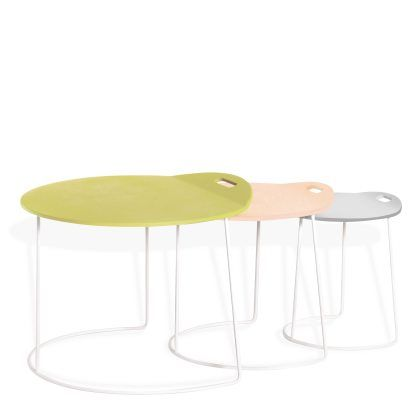 POMPAPLES end table by Adrien Rovero, Atelier Pfister