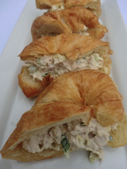 Tarragon Chicken Salad Croissant - YIAH GORGEOUS La Parisienne Dijon and Tarragon is a must for this recipe