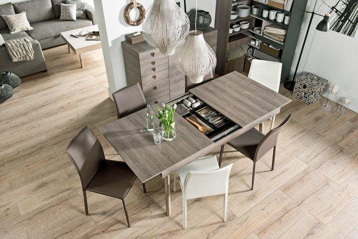 #stół #drewniany #jadalny  #design #jadalny #jadalnia #kuchenny #drewno #rozkładany #nowoczesny #skandynawski #biały #diy #wystrój  #pomysły #VOX #wnętrza #ciemny #wnęka #duży #salon #kuchnia #sztućce