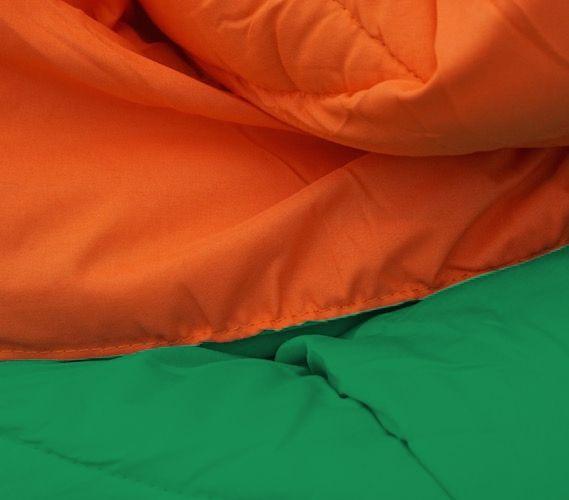 Kelly Green/Orange Reversible College Comforter - Twin XL Cheap ...