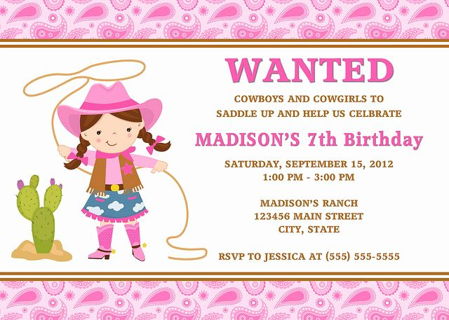 Cowgirl Invitation Template Free Unique Cowgirl Birthday Invitations Ideas Bagvania Free Cowgirl Invitations Cowgirl Birthday Invitations Cowgirl Birthday