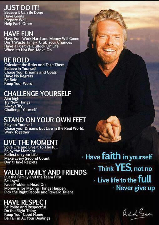 : Richardbranson, Words Of Wisdom, Website, Richard Branson, Web Site, Success Quote, Have Faith, Inspiration Quotes, Wise Words