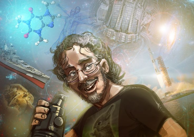 #Digicember 20 - Dr Phil Mason ( #Thunderf00t )