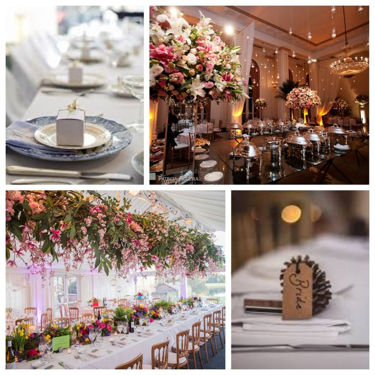 Table layout ideas for your Wedding Breakfast