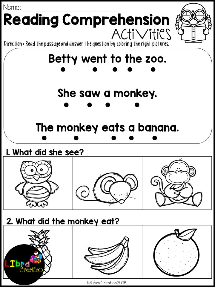 """Are you looking for monthly Reading Comprehension Activities for your Kindergarten students? Look no further, and these monthly passages are perfect for beginning readers.  Each monthly set comes in three formats. 5 pages of Reading Fluency, 5 pages of Reading fluency check cut and paste, and 10 pages of Reading Comprehension will suit the needs of your students. I have provided a copy of all those 20 pages without the """"dots"""" for tracking."""