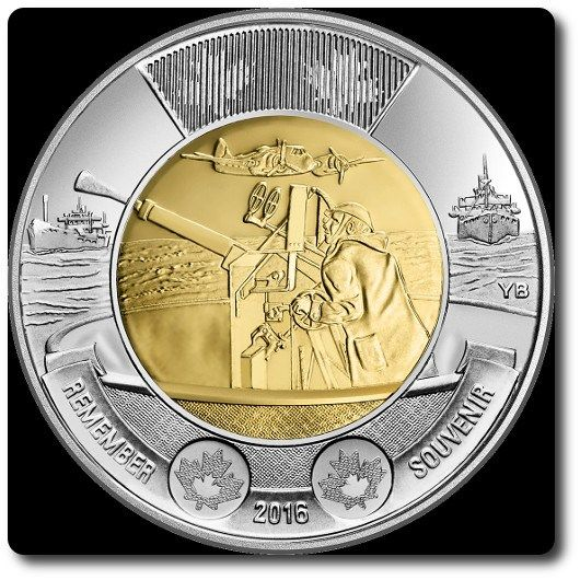 Battle of the Atlantic Canadian Coin