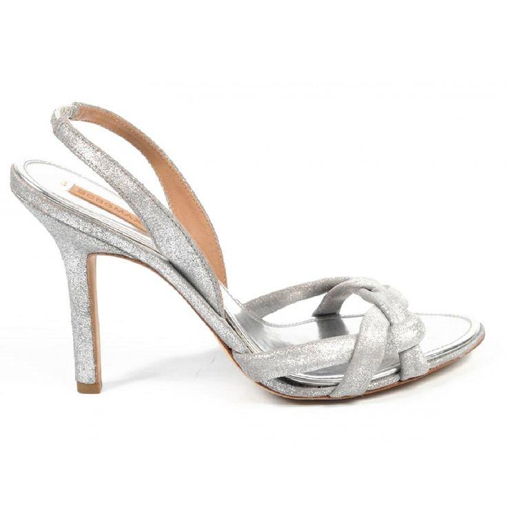 Max Azria ladies sandal MA-MIRNA SILVER