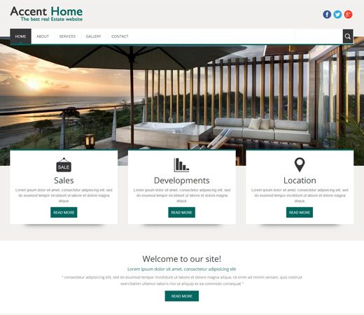 Best Free Real Estate Html Templates Images On