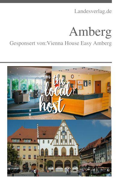 Amberg ist eine Stadt in der Oberpfalz im Norden Bayerns. Sie liegt an dem Flüsschen Vils. EBuch kaufen: Amberg, Gesponsert von Vienna House Easy Amberg
