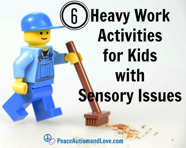 6 Heavy Work Activities for Kids with Sensory Issues