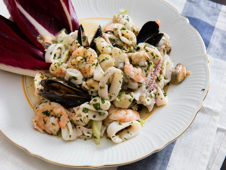 Italy's classic light, bright salad of gently cooked and marinated seafood with lemon juice, olive oil, parsley, and more.