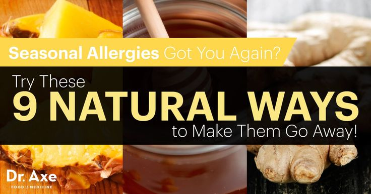 Spring leads to misery for those who suffer from seasonal allergy symptoms. Natural allergy treatments can be as effective and, in many cases, more effective than allergy medications.