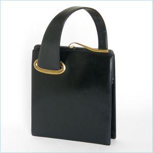 Vintage Black Leather Koro Purse                                                                                                                                                                                 More