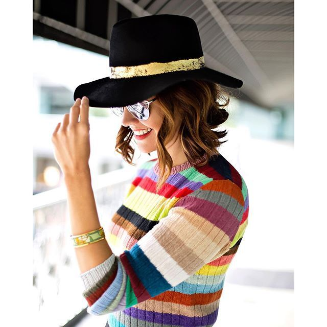 A tip of the hat  • read more about @eugeniakimnyc on #wearwherewell.com  Photo by @... @liketoknow.it www.liketk.it/1Z3Kc #liketkit